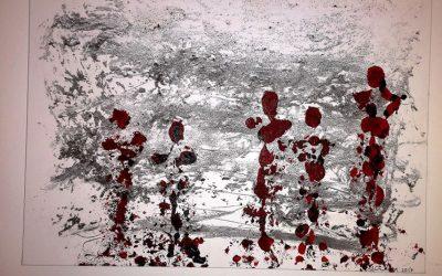 Die fünf Grazien 70 x 100 cm, 450,- Euro