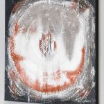 Die Weltkugel 70 x 100 Elisabeth Rose moderne Bilder für Wohnzimmer Esszimmer abstrakte Malerei auf Leinwand Acryl
