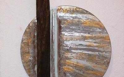 Baumkante Räuchereiche 40 x 100 VERKAUFT