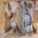 Elisabeth Rose Im Sandsturm 60 x 60 cm, 290 Euro