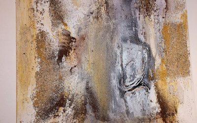 Im Sandsturm 60 x 60 cm, 290 Euro