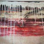 Elisabeth Rose Korallenriff 70 x 100 cm 450 Euro