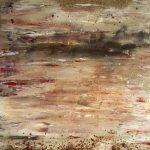 Elisabeth Rose Naturlandschaft mit Sand von Guernsey und Madeira Erde 60 x 80 cm 390 Euro