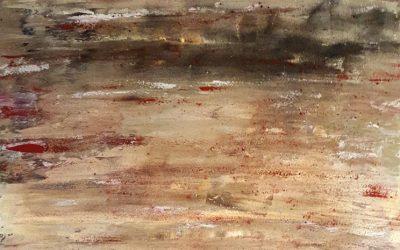 Naturlandschaft mit Sand 60 x 80 cm, 390,- Euro