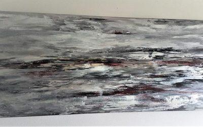 Wellengang 70 x 140 cm, VERKAUFT